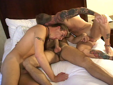 Hot Barebacking gay hardcore sex video